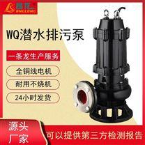 WQ潛水排污泵 污水處理水泵無堵塞 立式