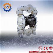 進口塑料氣動隔膜泵庫存大可長期供貨