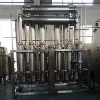 全自动双管板多效蒸馏水机