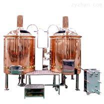200L酒店紫銅啤酒生產設備