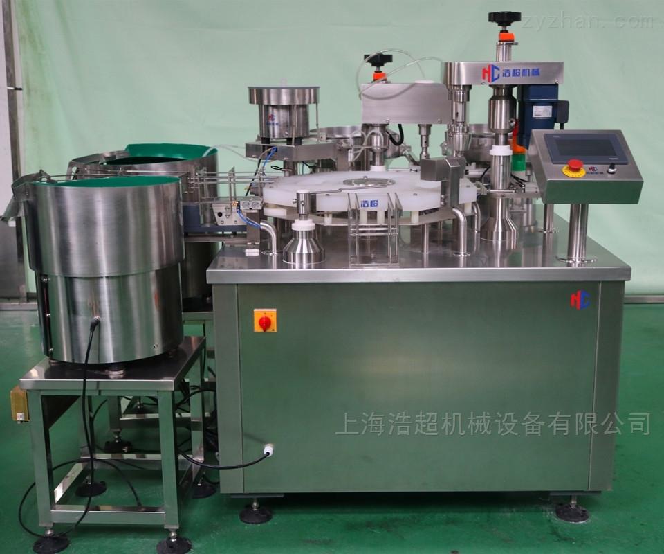 直管瓶试剂液体灌装机