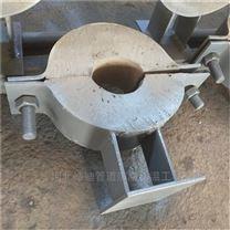 镁钢固定管托 承重管托质量保障