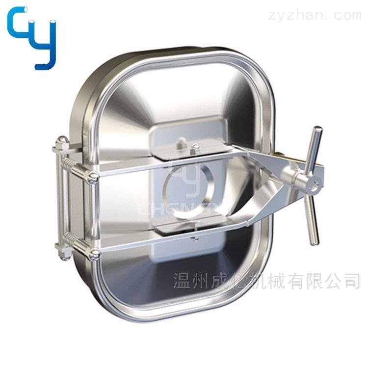 卫生级单锁方形人孔MH38