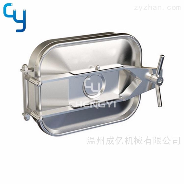 卫生级单锁矩形人孔MH39