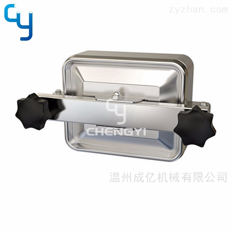 卫生级方形常压人孔MH36