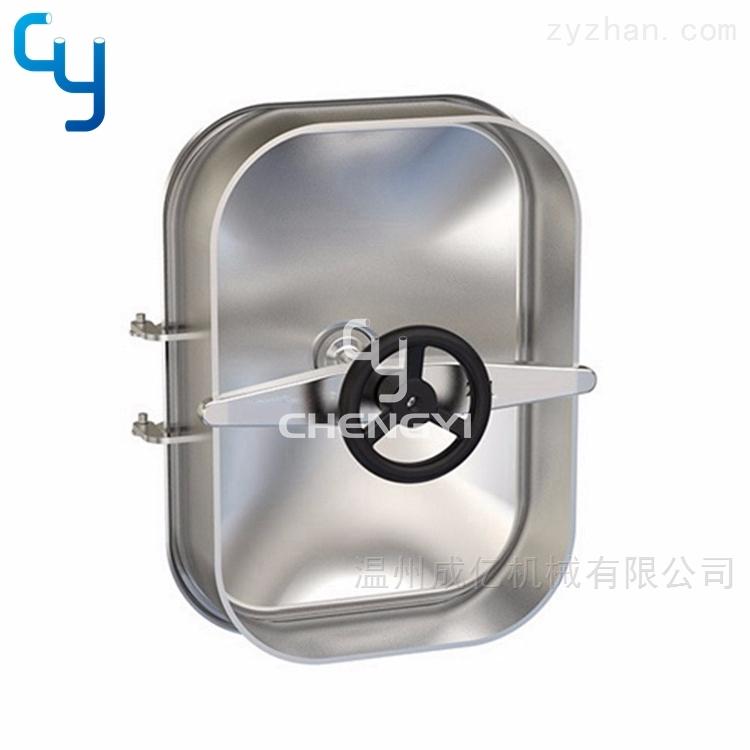 卫生级方形常压人孔MH42