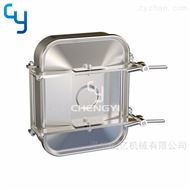 卫生级双锁方形人孔MH37