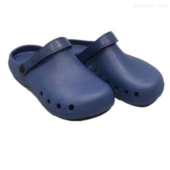 3-008A包头鞋蓝色带