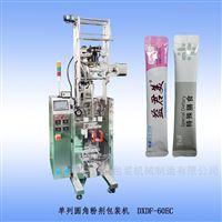 DXDF-60EC新单列圆角异形袋粉剂包装机