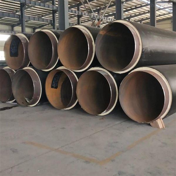 预制塑料发泡聚氨酯直埋保温管