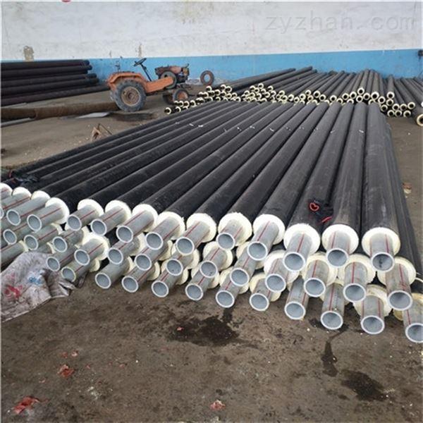 预制整体式衬塑聚氨酯直埋保温管