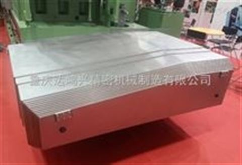 数控机床钢板伸缩式防护罩