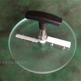 视镜钢化玻璃带双刮板