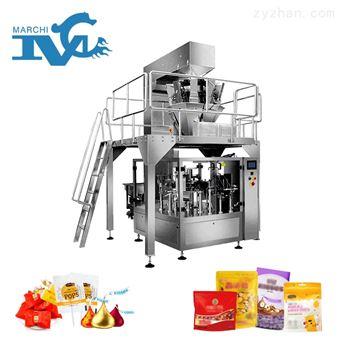 糖果包裝機械設備視頻