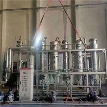 二手氯化钠三效组合结晶强制循环蒸发器