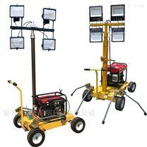 汽柴油發電機自動升降泛光工作燈移動式燈塔