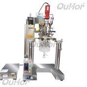 真空搅拌乳化反应釜可配多种混合搅拌器