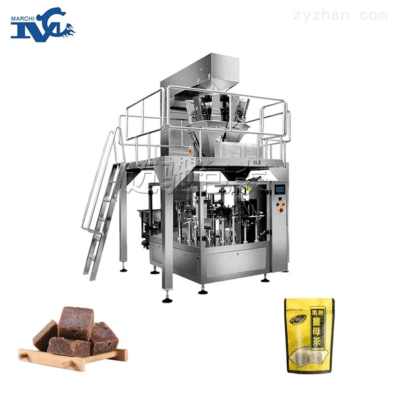预制袋红糖黑糖块自动包装机