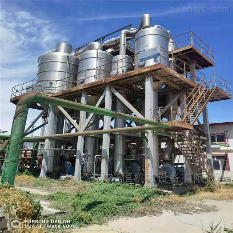 转让化工厂设备双效强制循环蒸发器