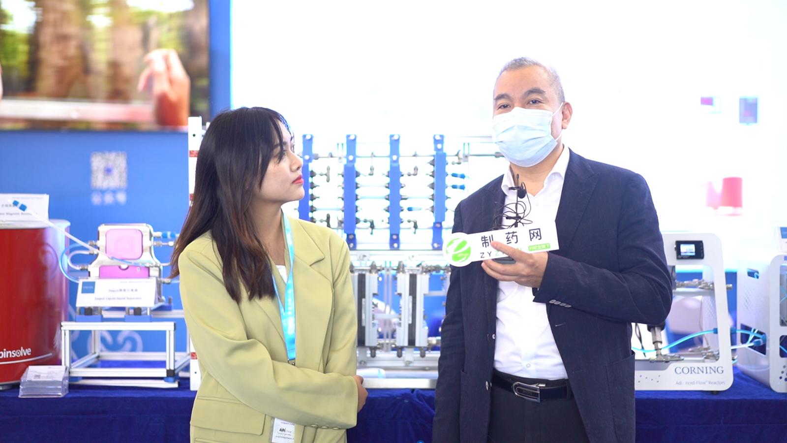 专访康宁反应器技术商务副总裁贾柏峰